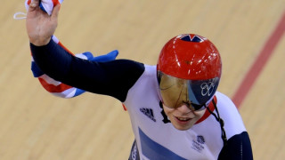 Kenny praises incredible Hindes after setting up Team Sprint gold and new world record