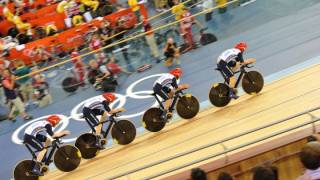 "Dan Hunt on Team Pursuit qualifier: ""All we've done here is state our intent - I think we can go quicker."""