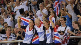 Rowsell confident of more records to come following gold in team pursuit