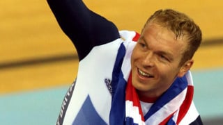 Sir Chris Hoy celebrates 'perfect end' to Olympic career as he becomes Britain's greatest Olympian