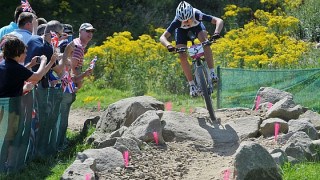 Eighth for Last in Olympic mountain bike cross-country race