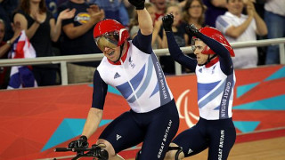 Four more Paralympic medals for Great Britain on velodrome day three