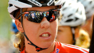 Nicole Cooke focused for Limburg test
