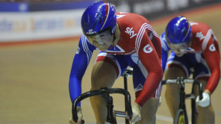 James and Varnish impress in team sprint as Cali World Cup begins