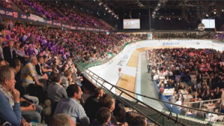 Jason Kenny keeps Rotterdam lead despite keirin crash
