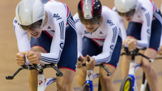 Fourth for Great Britain in men's team pursuit as juniors track world championships begin