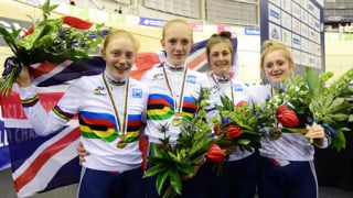 Great Britain's juniors take two world titles in Glasgow