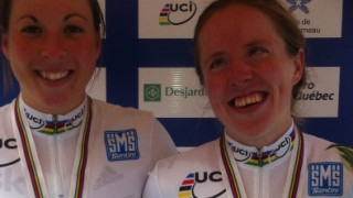 Hall and Turnham world title win crowned British Cycling Ride of the Year 2013