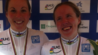 Para-cycling worlds: Turnham and Hall win silver in Tandem road race