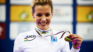 Abergavenny's Becky James becomes double world champion