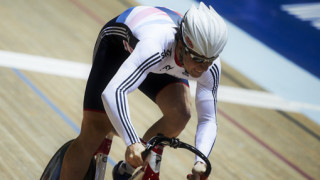 Great Britain's Lewis Oliva wins keirin bronze at UCI Track Cycling World Cup in Mexico