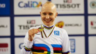 Rowsell wins individual pursuit gold to become double world champion
