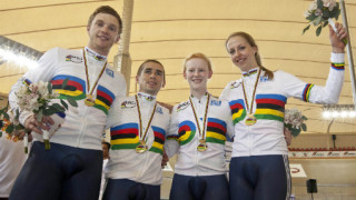 Triple gold for Great Britain on final day of para-cycling track world championships