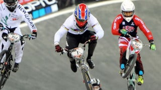 Podium for Phillips at UEC BMX European League