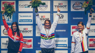 Katy Curd claims UCI Mountain Bike Fourcross World Championships victory