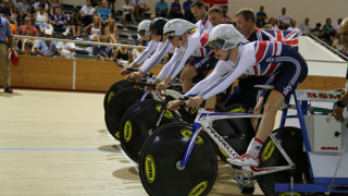 Team pursuit silver for Great Britain at European track championships