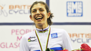 Khan looks ahead to British Cycling National Track Championships after Glasgow ride