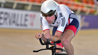 Andy Tennant wins individual pursuit silver at UCI Track Cycling World Cup