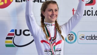 Laura Trott dominates omnium to win gold at UCI Track Cycling World Cup
