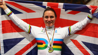 Storey claims second gold medal at UCI Para-cycling Track World Championships