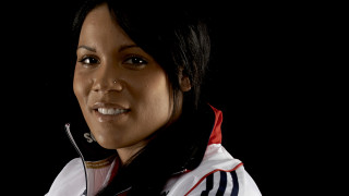 Shanaze Reade returns to training  with the Great Britain Cycling Team sprint squad