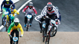 Phillips battles to fifth as torrential rain batters UCI BMX World Championships