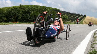 Darke fourth on final day of UCI Para-cycling Road World Championships