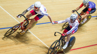 Wiggins and Cavendish team up to win Madison at Revolution Cycling Series