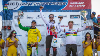 Liam Phillips on verge of UCI BMX Supercross World Cup title after Argentina win