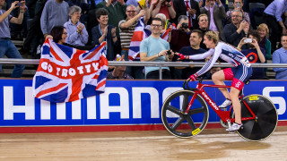 Golden Trott leads Great Britain medal charge at UCI Track Cycling World Championships