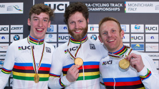 Team sprint gold caps dominant Great Britain performance at UCI Para-cycling Track World Championships