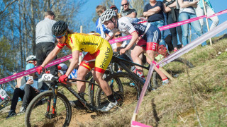 Silver for Richards at UCI MTB World Cup