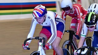 Jessica Roberts wins silver medal at UCI Junior Track Cycling World Championships