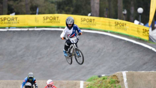 Shriever and Cullen take double wins at UEC BMX European Cup