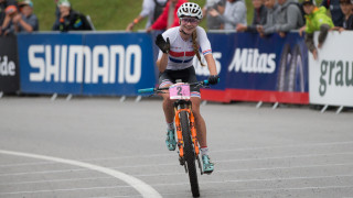 Top five for Britain's Richards and Short at cross-country UCI Mountain Bike World Cup