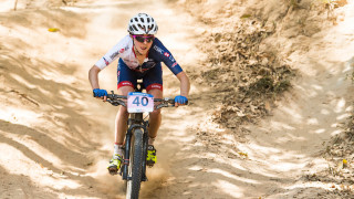 Top ten for GB's Sophie Wright at UCI Mountain Bike World Championships