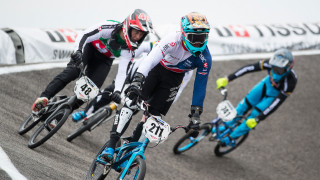Evans just misses out on final at round five of UCI BMX Supercross World Cup