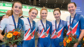 Team pursuit silver for Great Britain at Euros