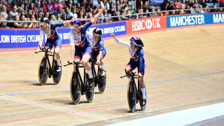 Team pursuit gold for Great Britain on final day of Tissot UCI Track Cycling World Cup in Manchester