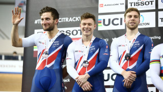 Team sprint, omnium and Madison medals on day two in Milton