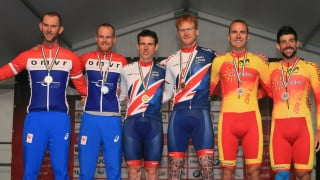 Golden start in Maniago for Great Britain Cycling Team tandem duo Bate and Duggleby