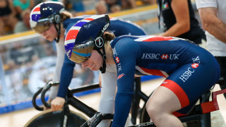 Team KGF lead team pursuit qualifying in Minsk as young team sprint duo get off the mark