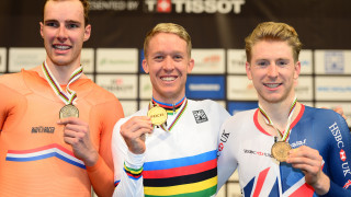 Britain's Mark Stewart digs deep for brilliant bronze at UCI Track Cycling World Championships