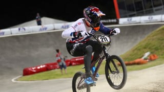 Evans and Cullen just miss out on medals at UCI BMX World Championships