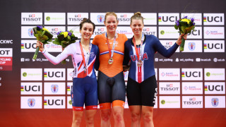 Barker wins double silver for Great Britain Cycling Team as Charlie Tanfield takes gold for Team KGF