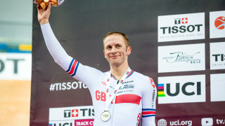 Jason Kenny wins keirin silver in Hong Kong