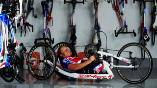 Rachel Morris Faces Paralympics Fitness Battle