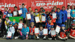 Young racers gather for Dowson Go-Ride Cyclo-Cross Race