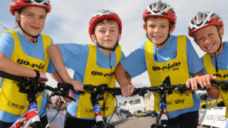 Olympic legacy gets youngsters on their bikes