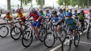 London Go-Ride Clubs compete for honours at final Tour of Britain stage